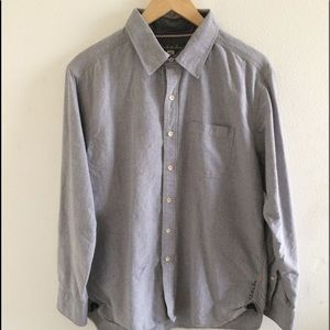 Quicksilver Long Sleeve Button Up Size Mens Large